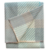 Turquoise Throw by Claire Gaudion