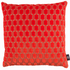 Bakerloo Neon Orange Cushion by Kirkby Designs available at GalapagosDesigns.com