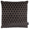 Bakerloo Eclipse Grey Cushion by Kirkby Designs
