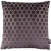 Bakerloo Blackberry Cushion by Kirkby Designs