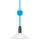 Knot Pendant Lamp in Blue