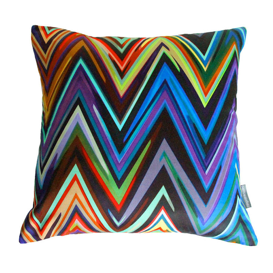Zig Zag Cushion by Parris Wakefield available at GalapagosDesigns.com