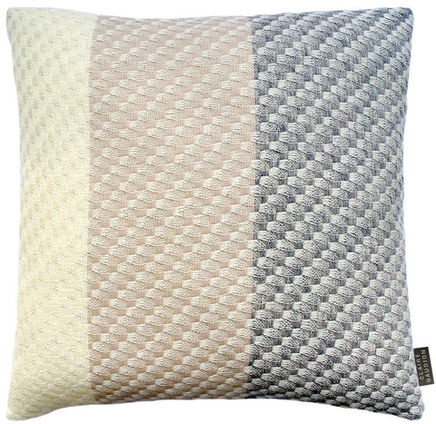 Ecru  Cushion by Claire Gaudion