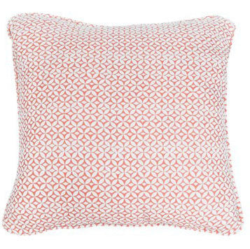 Portia in Persimmon Cushion by Korla available at GalapagosDesigns.com