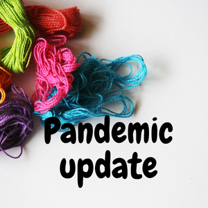 Pandemic Update for the next little while