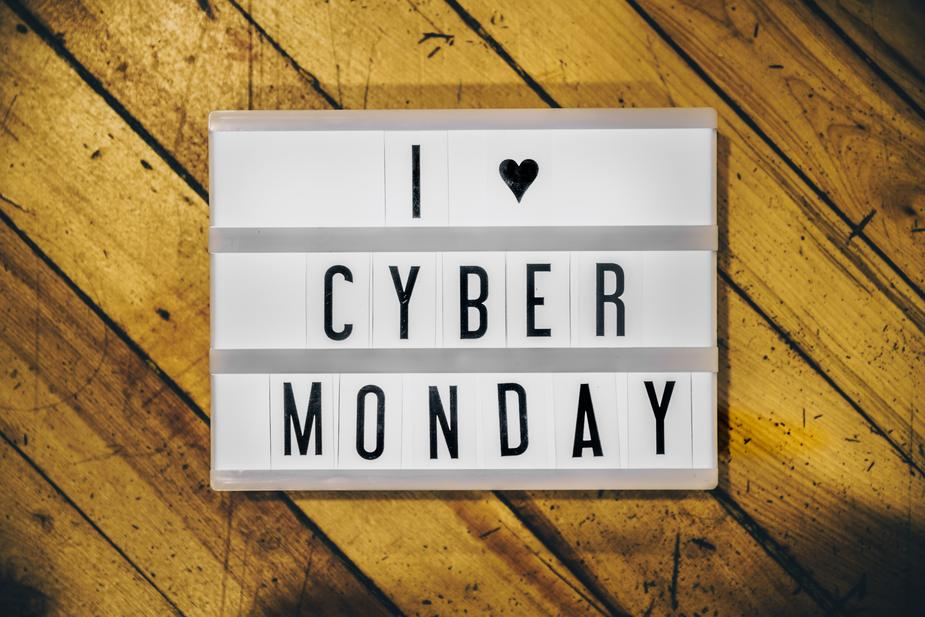 Cyber Monday sale for Sunday and Monday