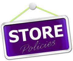 Updated Store Policies