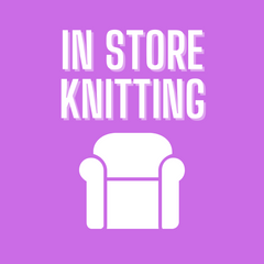 In store knitting
