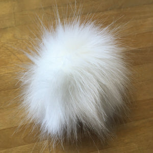 Faux Fur Pompoms