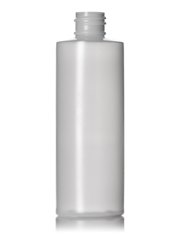 4oz HDPE Cylinder Bottle w/ Flip Top Cap (100 Count Cases)