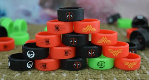 Wide Custom Tank Bands (1000 Count Lot)