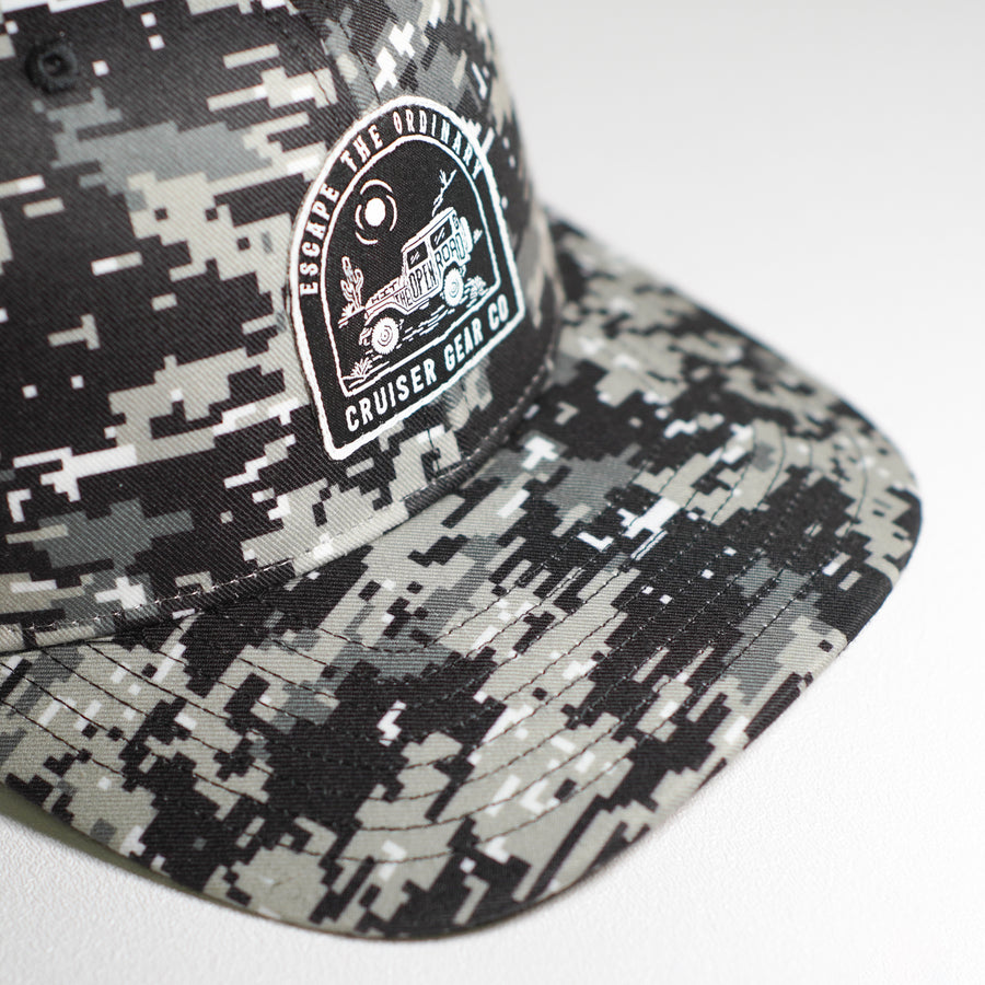 ESCAPE THE ORDINARY HAT - DIGITAL CAMO