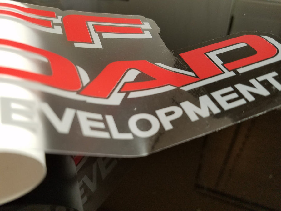 LRD Lexus Racing Development Decal