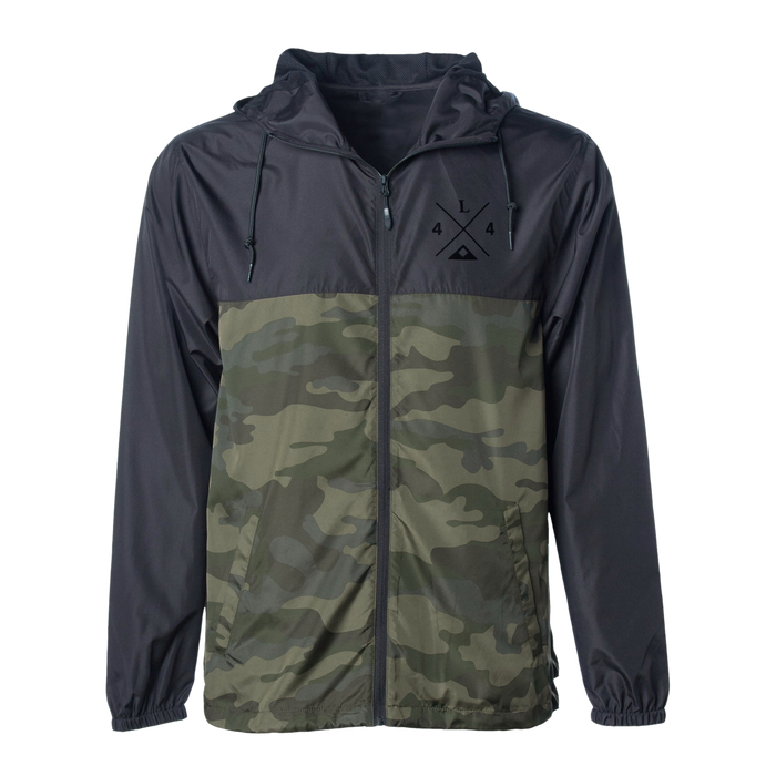 Legend 4X4 Camo Windbreaker