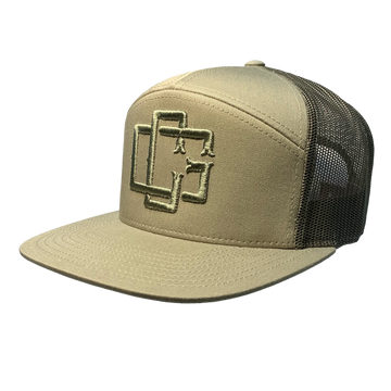 PUFF MONOGRAM HAT - KHAKI