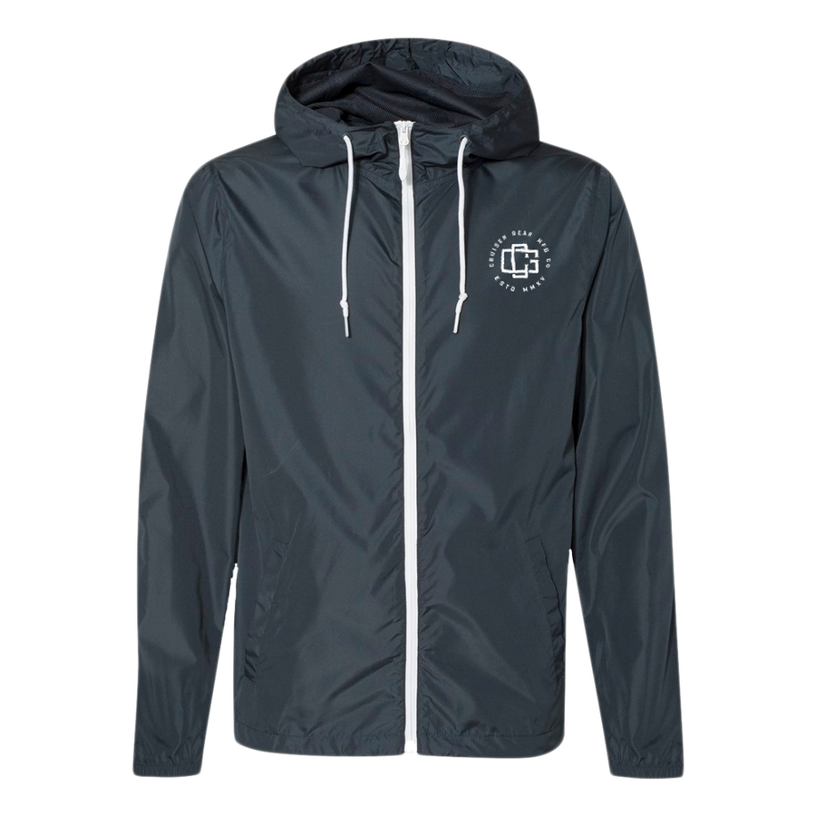 CG MONOGRAM WINDBREAKER - NAVY