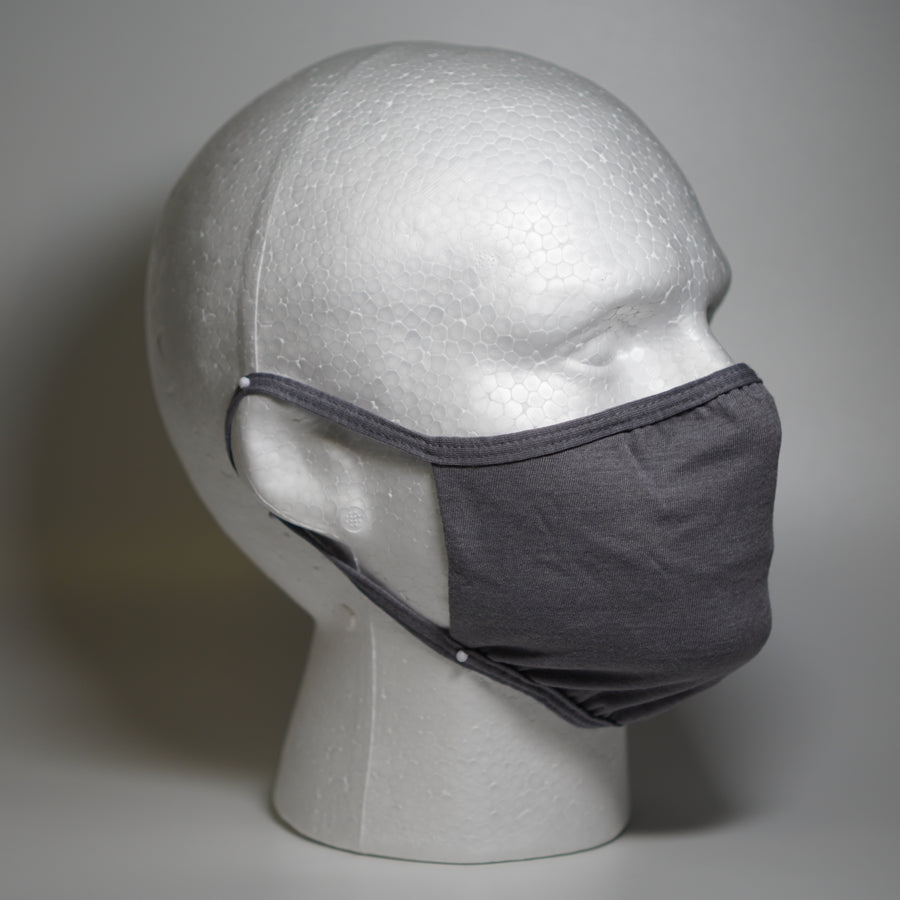 REVERSIBLE FACE MASK - GREY
