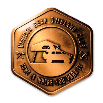 Home Is Where You Park It - Copper Badge