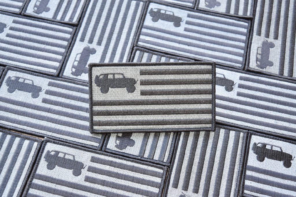 #1 - SEPTEMBER - FJ Flag Embroidered Patch V1