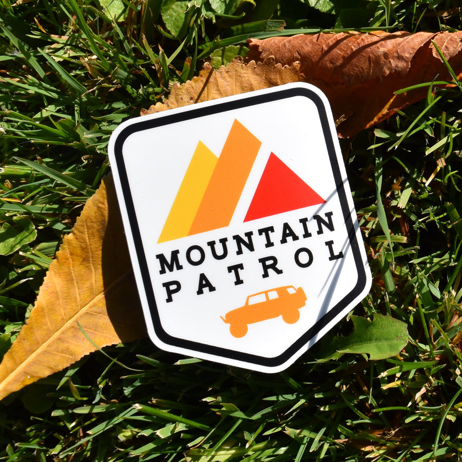 FJ Mountain Patrol (STICKER)