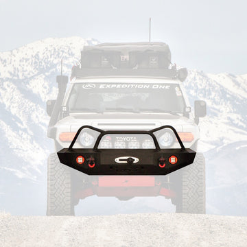 EXPEDITION ONE - FJ CRUISER FRONT BUMPER - DIAMOND