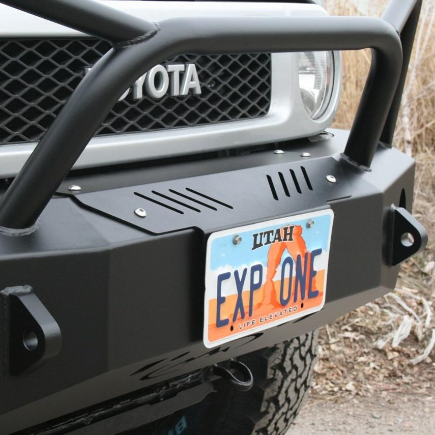 EXPEDITION ONE - FJ CRUISER FRONT BUMPER WINCH COVER PLATE
