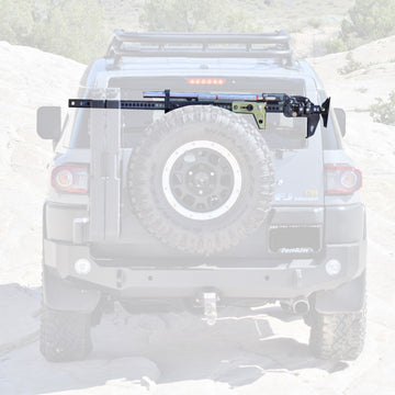 EXPEDITION ONE - FJ CRUISER REAR BUMPER HI-LIFT JACK HORIZONTAL MOUNT