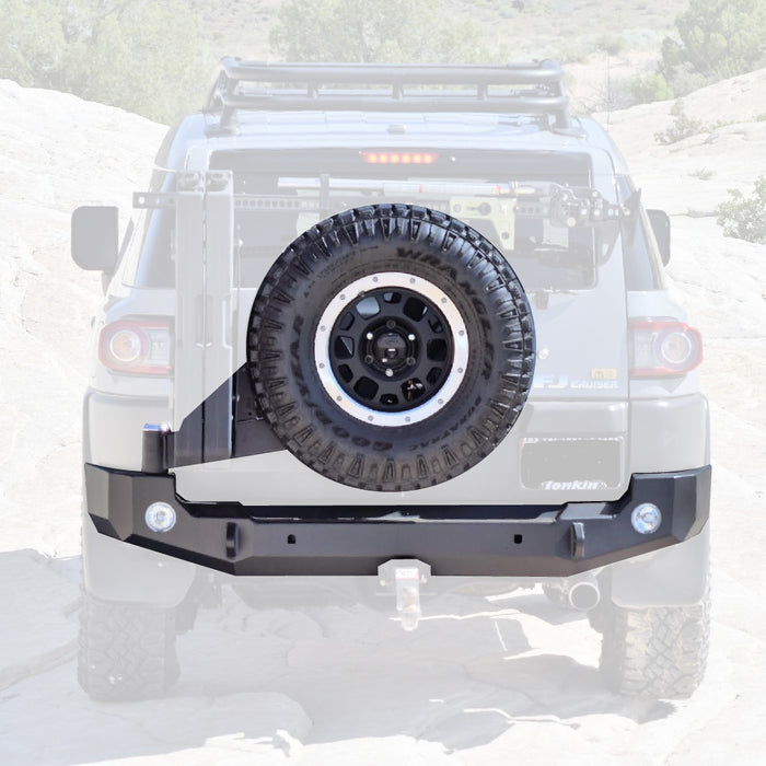 EXPEDITION ONE - FJ CRUISER REAR BUMPER WITH TIRE CARRIER 3