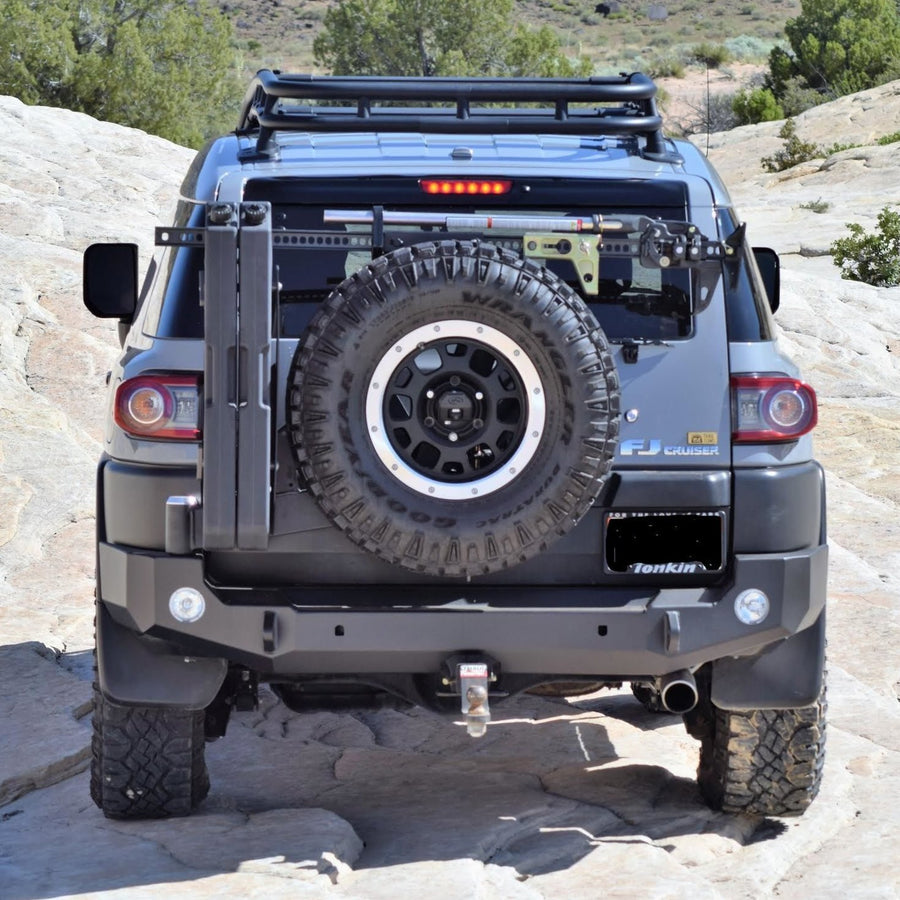 EXPEDITION ONE - FJ CRUISER REAR BUMPER WITH TIRE CARRIER