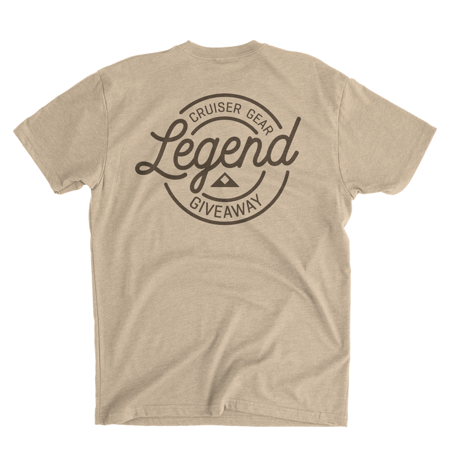 Legend Giveaway Logo Shirt - Men - V2 - (Double Entries!)