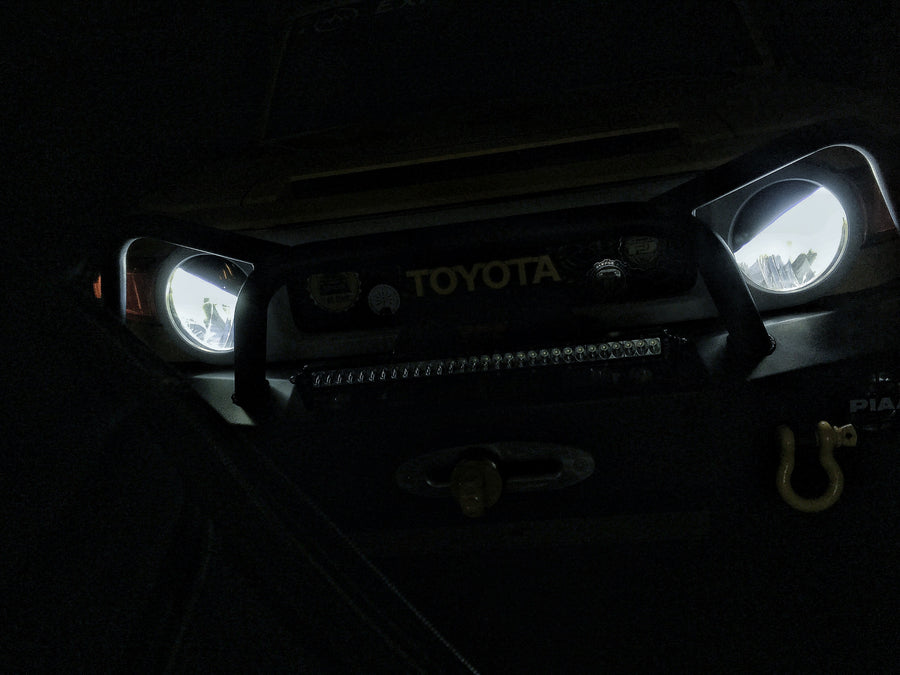 Angry Eyes Headlight Covers