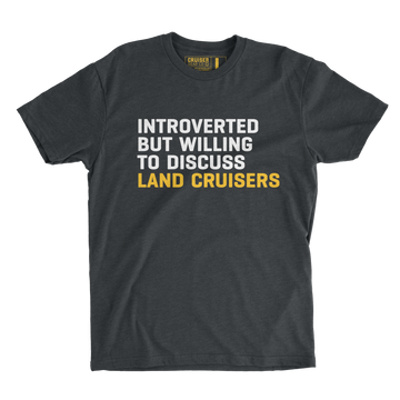INTROVERTED, BUT LAND CRUISERS - MEN