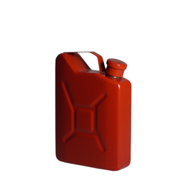 JERRYCAN HIP FLASK - RED
