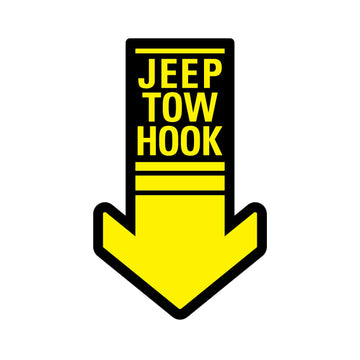 Jeep Tow Hook (STICKER)
