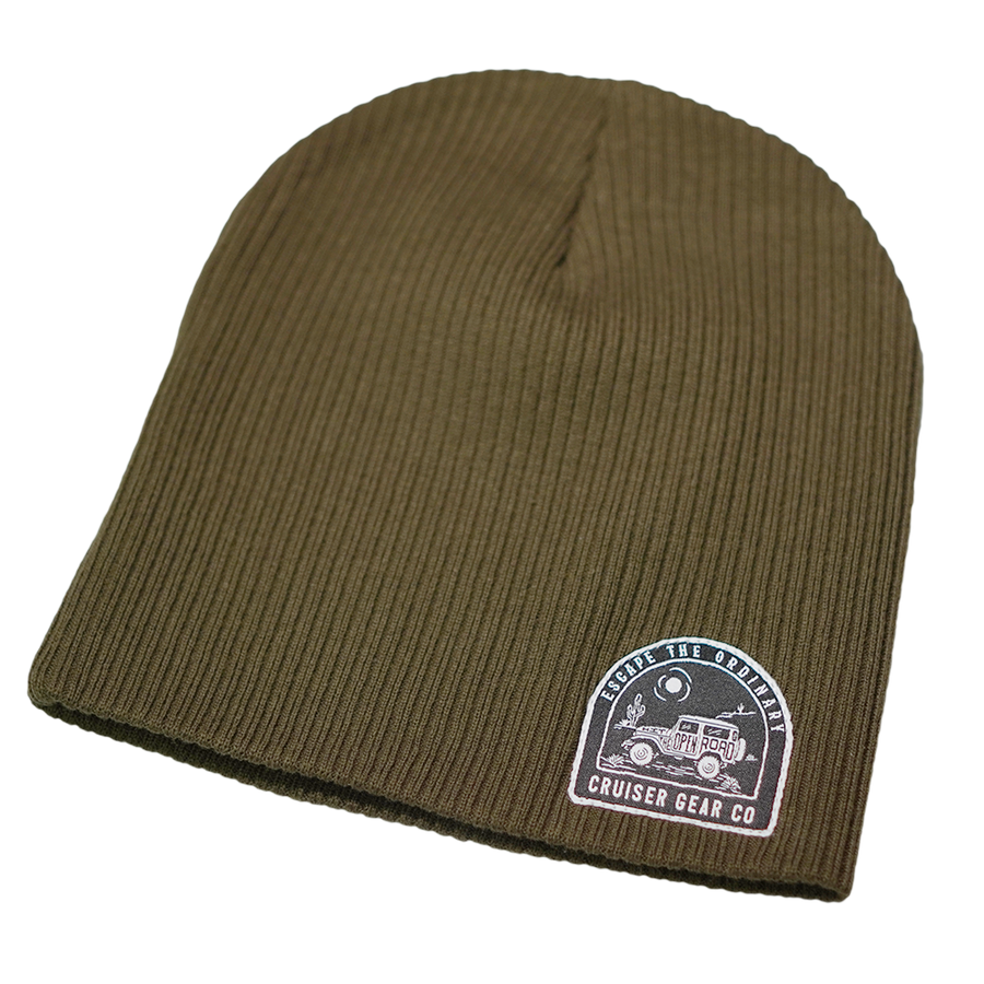 ESCAPE THE ORDINARY - BEANIE - OLIVE