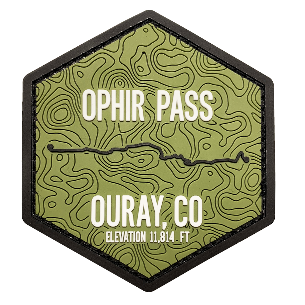 Trails of Ouray CO - PATCHES