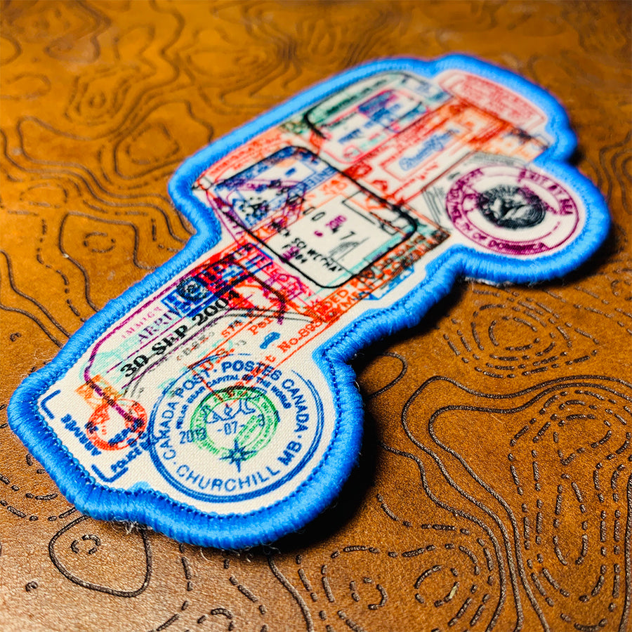 PASSPORT FOR ADVENTURE - 40 SERIES - PATCH