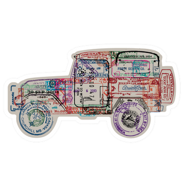 Passport For Adventure - 40 Series (STICKER)