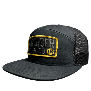 SHIELD HAT - BLACK