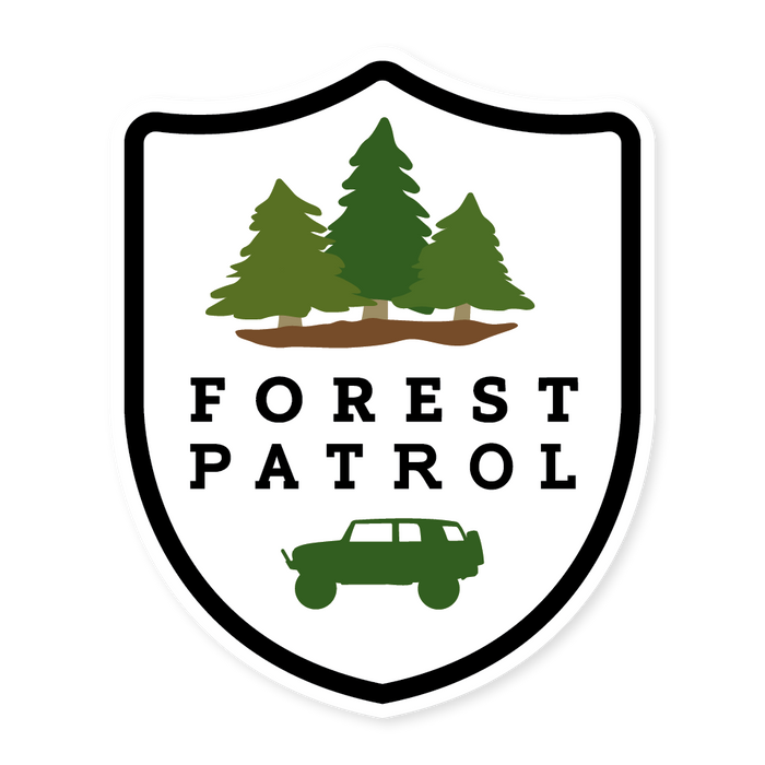Forest Patrol - V1 (STICKER)