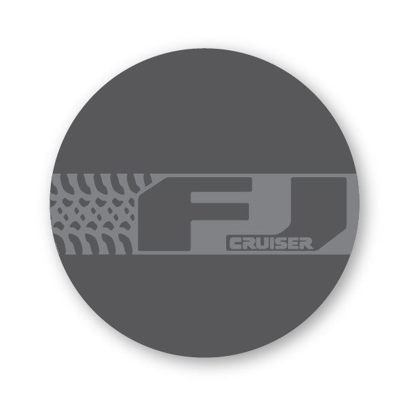 FJ Spare Tire Cover (STICKER)
