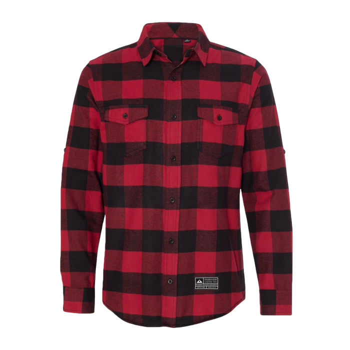 Flannel Button-Up Shirt - Men