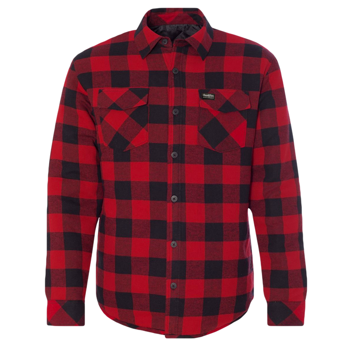 Flannel Insulated Jacket - Men