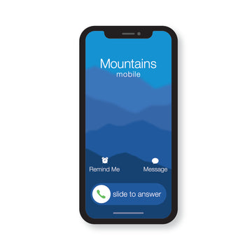 The Mountains Are Calling - The Call V1 (STICKER)