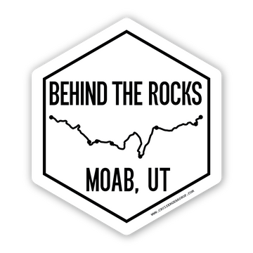 Trails of Moab UT - (STICKER)