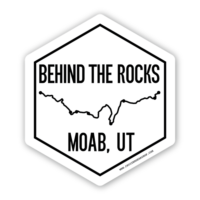 Trails of Moab UT - STICKERS