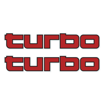 TURBO (STICKER)