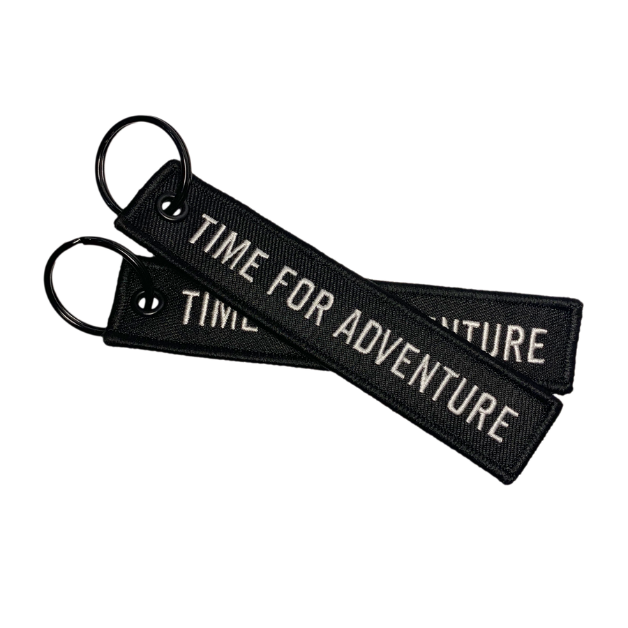 Time for Adventure - Keychain