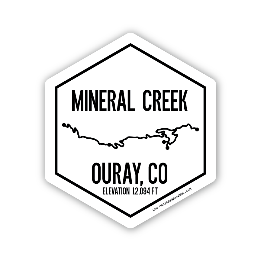 Trails of Ouray CO - STICKERS