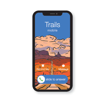 The Trails Are Calling - The Call V2 (STICKER)